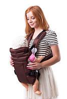 Рюкзак переноска Кенгуру для детей новорожденных Умка №12 шоколад (BR 60373)