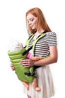 Рюкзак переноска Кенгуру для детей новорожденных Умка №12 салатовый (BR 60704)