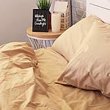 Комплект постільної білизни Натхнення Євро з Простирадлом на Резинці для Євро-подушки (PF034), фото 3