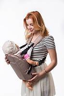 Рюкзак переноска Кенгуру для детей новорожденных Умка №6 капучино (BR 60376)