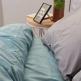 Комплект постільної білизни Натхнення Євро з Простирадлом на Резинці для Євро-подушки (PF040), фото 2
