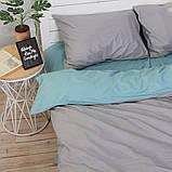 Комплект постільної білизни Натхнення Євро з Простирадлом на Резинці для Євро-подушки (PF040), фото 3