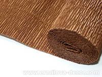 Гофрированная бумага светло-коричневая Италия