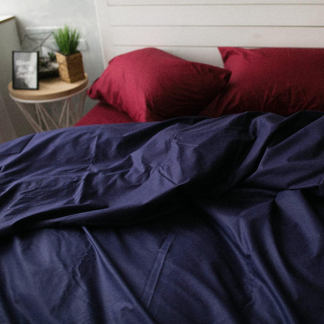 Комплект постельного белья Вдохновение Семейный с Простыней на Резинке для Стандартной подушки (PF011)