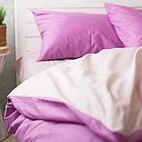 Комплект постільної білизни Натхнення Сімейний з Простирадлом на Резинці для Стандартної подушки (PF021), фото 2