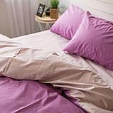 Комплект постільної білизни Натхнення Сімейний з Простирадлом на Резинці для Стандартної подушки (PF021), фото 3