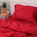 Комплект постільної білизни Натхнення Сімейний з Простирадлом на Резинці для Стандартної подушки (PF029), фото 3