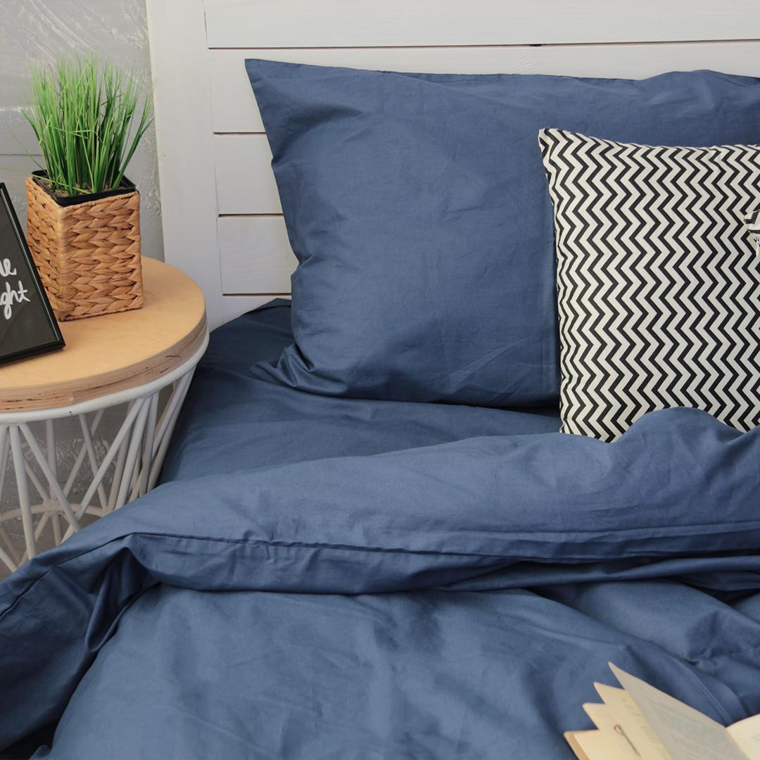 Комплект постельного белья Вдохновение Семейный с Простыней на Резинке для Евро-подушки (PF031)