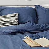 Комплект постельного белья Вдохновение Семейный с Простыней на Резинке для Евро-подушки (PF031), фото 2
