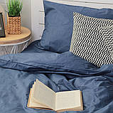 Комплект постельного белья Вдохновение Семейный с Простыней на Резинке для Евро-подушки (PF031), фото 3