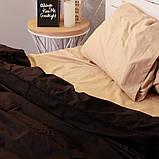 Комплект постельного белья Вдохновение Семейный с Простыней на Резинке для Евро-подушки (PF035), фото 3