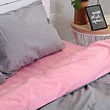Комплект постільної білизни Натхнення Сімейний з Простирадлом на Резинці для Стандартної подушки (PF039), фото 2