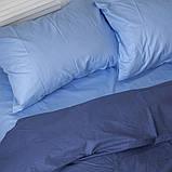 Комплект постельного белья Вдохновение Семейный с Простыней на Резинке для Евро-подушки (PF049), фото 2