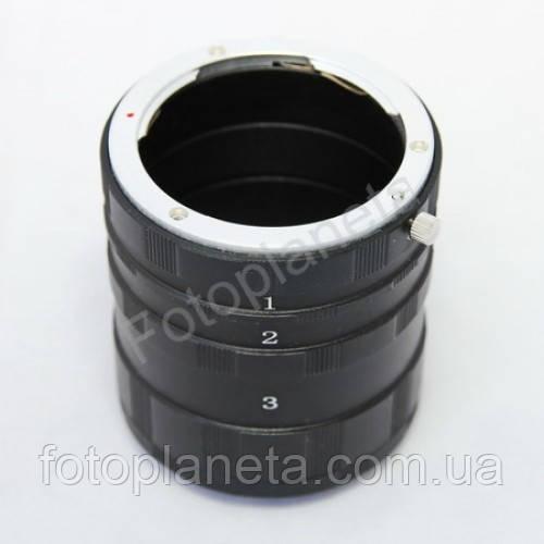 Макрокольца мануальные для фотоаппаратов Nikon набор макро колец