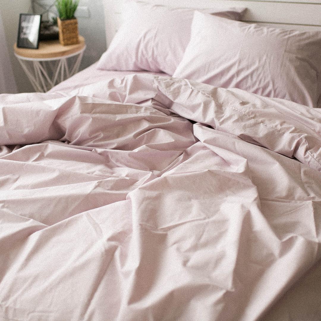 Комплект постельного белья Вдохновение 2-спальный с Простыней на Резинке для Евро-подушки (PF006)