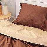 Комплект постельного белья Вдохновение 2-спальный с Простыней на Резинке для Евро-подушки (PF033), фото 2
