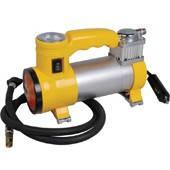 Миникомпрессор атомобильный с фонариком 2 в 1, 12В, 10бар, 35л/мин