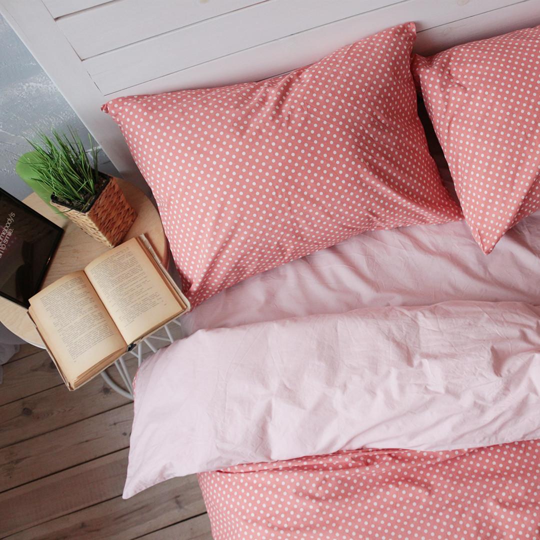 Комплект постельного белья Вдохновение 2-спальный с Простыней на Резинке для Евро-подушки (PF043)