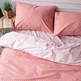 Комплект постельного белья Вдохновение 2-спальный с Простыней на Резинке для Евро-подушки (PF043), фото 2