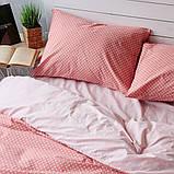 Комплект постельного белья Вдохновение 2-спальный с Простыней на Резинке для Евро-подушки (PF043), фото 3