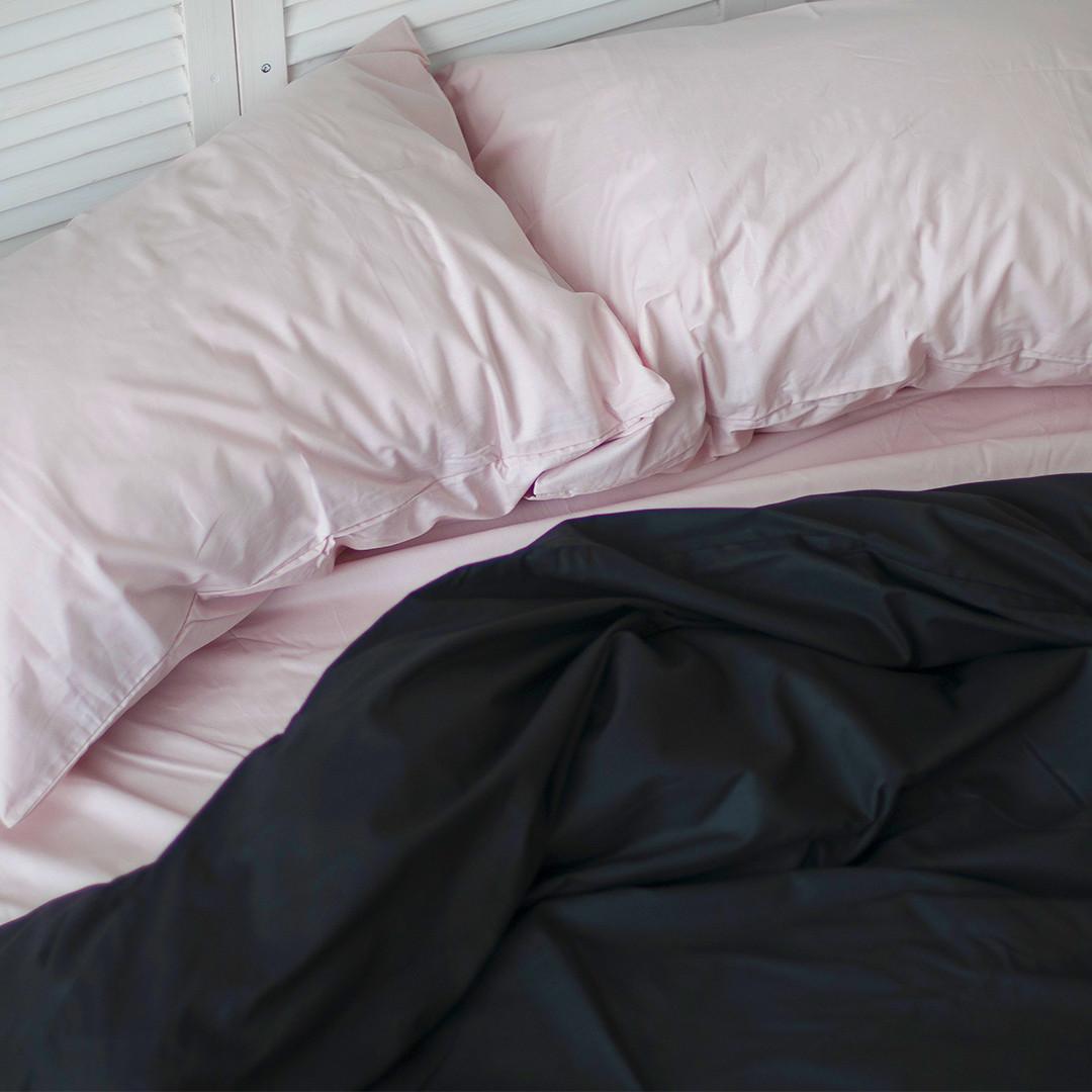 Комплект постельного белья Вдохновение 2-спальный с Простыней на Резинке для Евро-подушки (PF051)