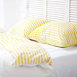Комплект постельного белья Вдохновение 2-спальный с Простыней на Резинке для Стандартной подушки (PF057), фото 3