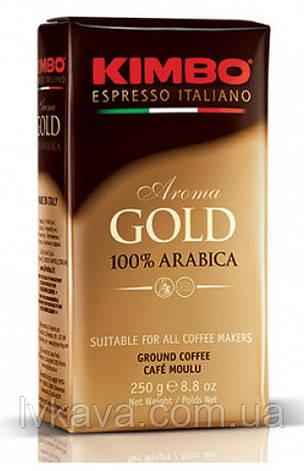 Кофе молотый KIMBO Aroma GOLD 100 % Arabic , 250 гр, фото 2