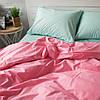 Комплект постельного белья Вдохновение 1.5-спальный с Простыней на Резинке для Стандартной подушки (PF010)