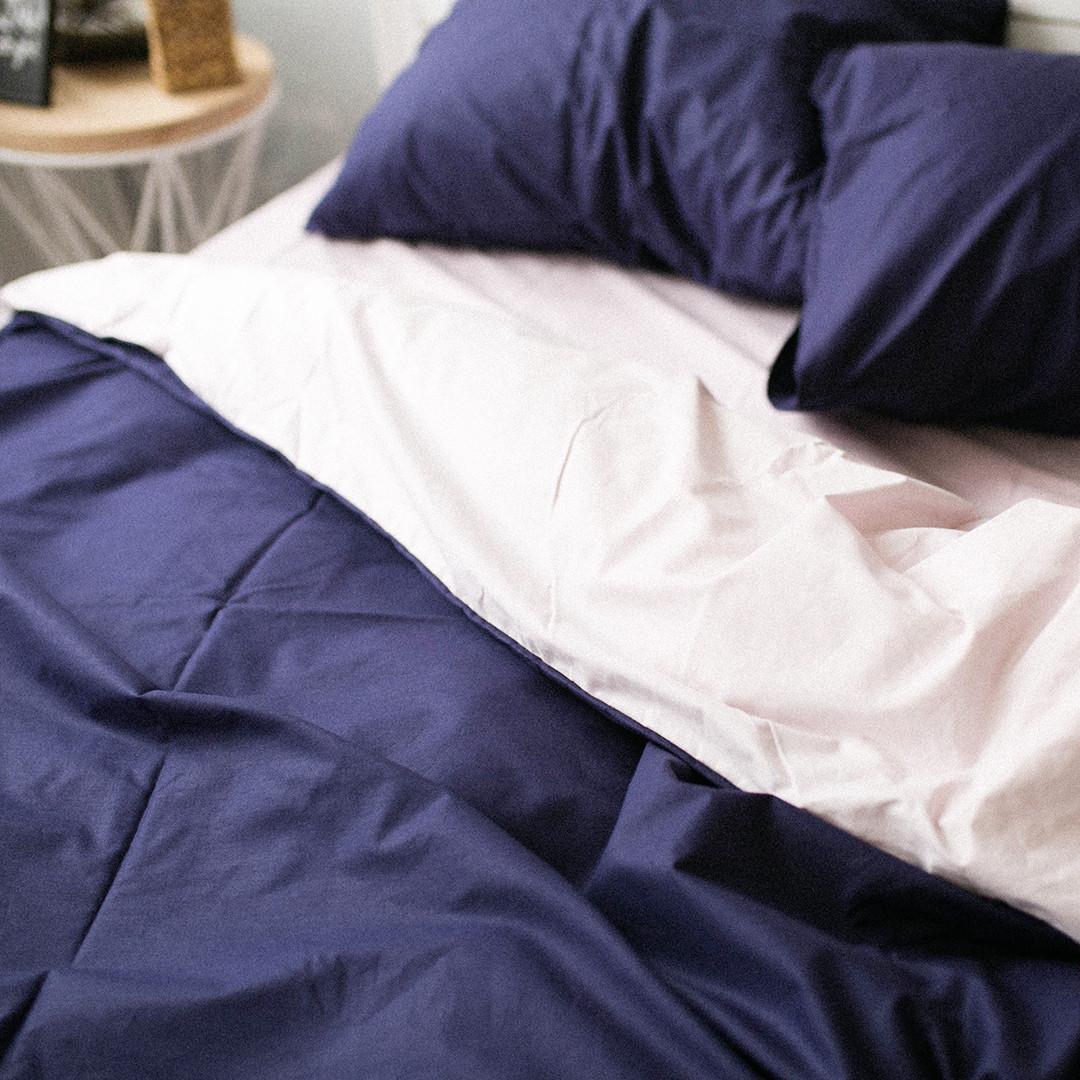 Комплект постельного белья Вдохновение 1.5-спальный с Простыней на Резинке для Стандартной подушки (PF022)