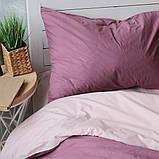 Комплект постільної білизни Натхнення 1.5-спальний з Простирадлом на Резинці для Євро-подушки (PF042), фото 3