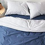 Комплект постельного белья Вдохновение 1.5-спальный с Простыней на Резинке для Евро-подушки (PF044), фото 2