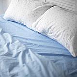 Комплект постельного белья 1.5 спальный Хлопок Люкс (PF055) с Простыней на Резинке для Стандартной подушки, фото 2
