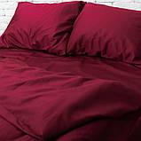 Комплект постільної білизни 1.5 спальний Сатин Люкс (SE002) з Простирадлом на Резинці для Стандартної подушки, фото 2