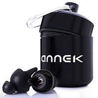 Беруши с акустическим фильтром для дискотек клубов для сна многоразовые универсальные дышашие в футляре 27 Дб