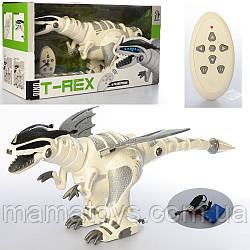 Динозавр M 5476 Робот на Радиоуправлении.  Размер 67 см, музыка, звук, свет, ходит, танцует, подвижные детали.