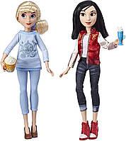 Набор Кукол Принцессы Диснея Золушка и Мулан Cinderella and Mulan Disney Princess Hasbro E7414