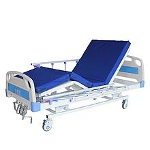 Медицинская функциональная кровать с регулировкой высоты ложа М08. Кровать для инвалида.