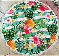 Махровое полотенце на пляж (Вкус лета)