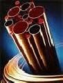 Труба медная  М1 (мягкая)  ф  8х1 в бухтах