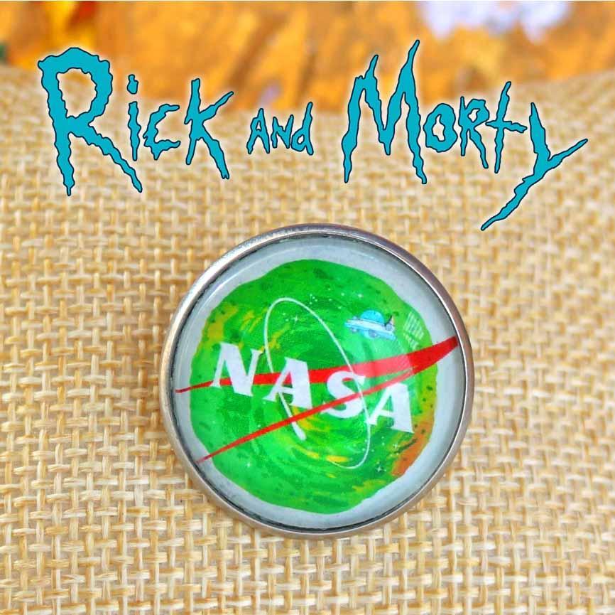 Значок портал Ріка NASA Рік і Морті / Rick and Morty