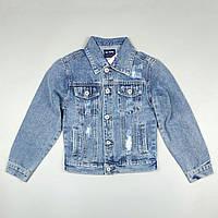 Джинсова куртка піджак для хлопчика 3351