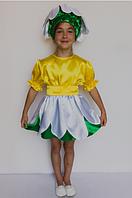 Карнавальный костюм цветка Ромашка для девочек 3-6 лет, фото 1