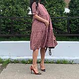 Летнее платье для беременных с секретом для кормления., фото 5