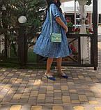 Натуральное платье для беременности и кормления., фото 3