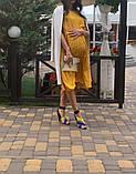 Натуральное платье для беременности и кормления., фото 5