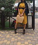 Натуральное платье для беременности и кормления., фото 4