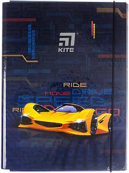 """Папка для праці A4 """"Kite"""" №K20-213-02 Fast Cars(5)(20)"""