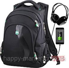 Рюкзак молодіжний для хлопчика підлітків і старшекластиков Winner One 386-3-1, фото 2