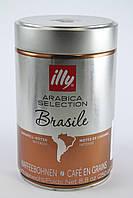 Кофе в зернах ILLY BRAZIL MONOARABICA ж/б 100% Арабика 250 гр зерна кофе