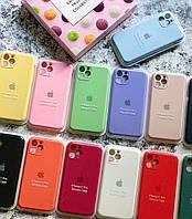 Чехол на Айфон 11 11pro 11promax Silicone Case, фото 1
